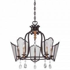 Metropolitan Lighting N7115-258B French Bronze w/ Gold Highligh CORTONA