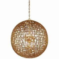Metropolitan Lighting N7139-597 HALCYON GOLD