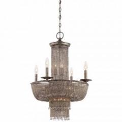 Metropolitan Lighting N7215-578 ANTIQUE SILVER