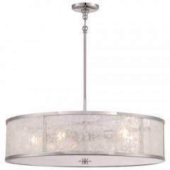 Metropolitan Lighting N7405-613 Polished Nickel LAKE FROST