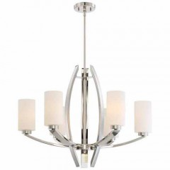 Metropolitan Lighting N7806-613 POLISHED NICKEL GLIMRENDE
