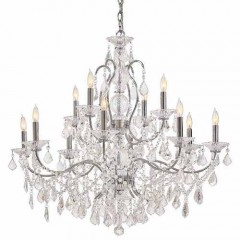 Metropolitan Lighting N8008 CHROME VINTAGE/CRYSTAL