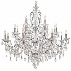 Metropolitan Lighting N8009 CHROME VINTAGE/CRYSTAL