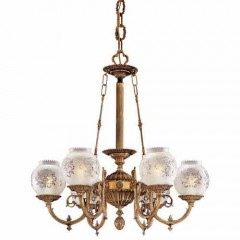 Metropolitan Lighting N801906 Antique Classic Brass Metropolitan