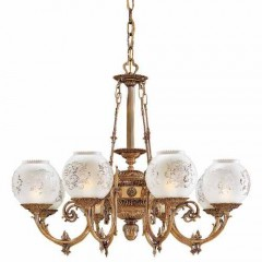 Metropolitan Lighting N801908 Antique Classic Brass METROPOLITAN COLLECTION