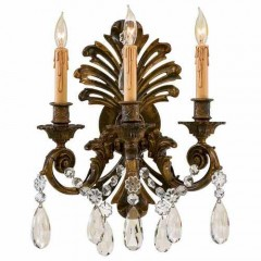 Metropolitan Lighting N952013 OXIDIZED BRASS SCONCE COLLECTION