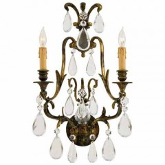 Metropolitan Lighting N952115 OXIDIZED BRASS SCONCE COLLECTION