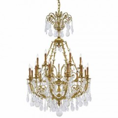 Metropolitan Lighting N9711 French Gold Metropolitan