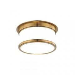 Hudson Valley 709-AGB Aged Brass Geneva