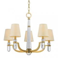 Hudson Valley 985-AGB Aged Brass Dayton