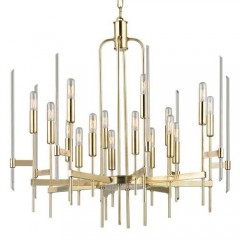 Hudson Valley 9916-AGB Aged Brass Bari