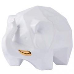 Varaluz 401A14WHGO White w/ Gold Origami Zoo