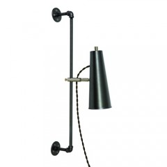 House of Troy NOR375-GTSN Chestnut Bronze with Antique Brass Accents