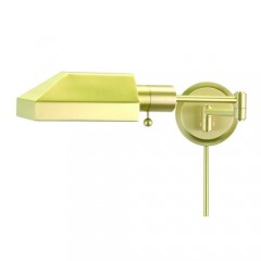 House of Troy WS12-51-J Satin Brass Home/Office