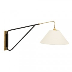 House of Troy WS731-ABBLK Satin Brass