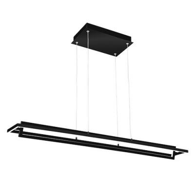KUZCO LP16140-BK Black Contemporary