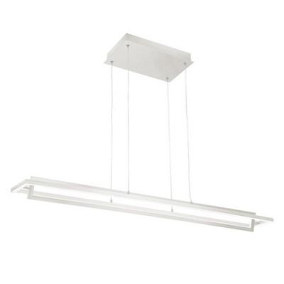 KUZCO LP16140-WH White Contemporary