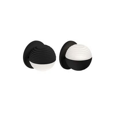 KUZCO WS10501-BK Black Contemporary