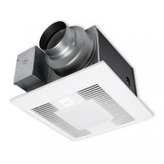 Panasonic FV-05-11VKSL1 White WhisperGreen Select™ Fan/LED Light with DC Motor (LED lamps included)