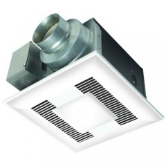 Panasonic FV-08VQL6 Zinc Galvanized WhisperLite (CFL Lamps included)