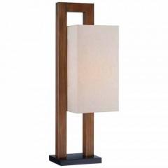 Minka Lavery 10037-0 Walnut Table Lamps