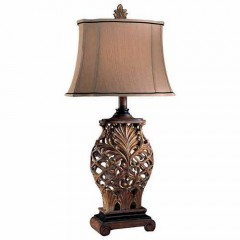 Minka Lavery 10693-192 WEATHERED LATTICE Table Lamps