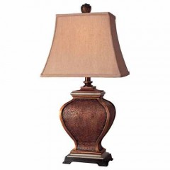 Minka Lavery 10824-0 Antique Brown Table Lamps