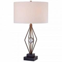 Minka Lavery 12412-0 Silver Leaf Table Lamps