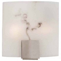Minka Lavery 334-84-PL BRUSHED NICKEL Wall Sconce