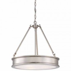 Minka Lavery 4173-84 BRUSHED NICKEL HARBOUR POINT