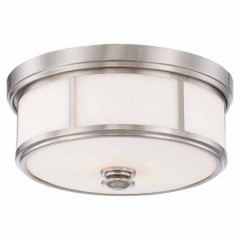 Minka Lavery 4365-84 BRUSHED NICKEL HARBOUR POINT