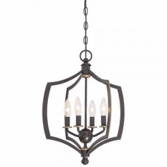 Minka Lavery 4374-579 DOWNTON BRONZE WITH GOLD HIGHLIGHTS MIDDLETOWN