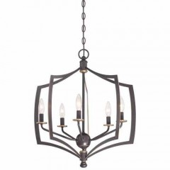 Minka Lavery 4375-579 DOWNTON BRONZE WITH GOLD HIGHLIGHTS MIDDLETOWN