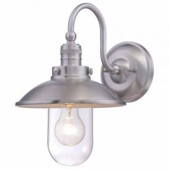 Minka Lavery 71163-A144 BRUSHED STAINLESS STEEL DOWNTOWN EDISON