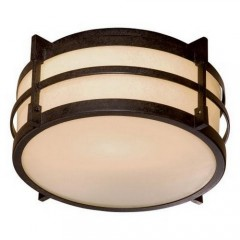 Minka Lavery 72029-A179-PL TEXTURED FRENCH BRONZE ANDRITA COURT