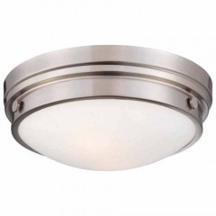 Minka Lavery 823-84 BRUSHED NICKEL Outdoor Ceiling