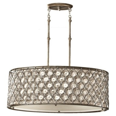 Murray Feiss F25693BUS Burnished Silver Lucia
