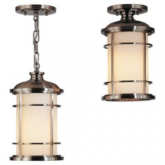 Murray Feiss OL2209BS-LED Brushed Steel Lighthouse