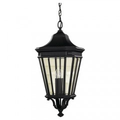 Murray Feiss OL5412BK-LED Black Cotswold Lane